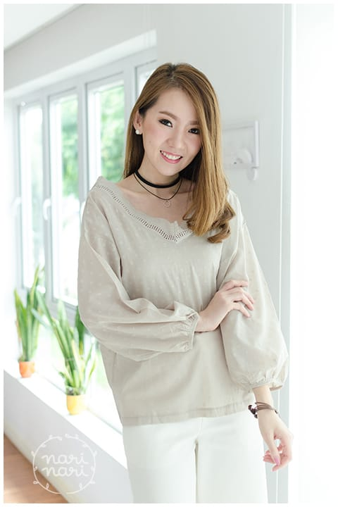 Wide Collar Blouse 99